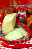 Calabria, locale food- cheese Stock Photo