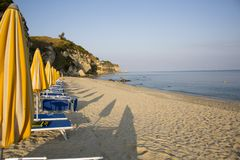 Calabria is located in southwestern Italy royalty free stock photos