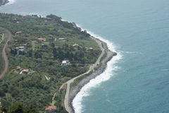 Calabria's coast Royalty Free Stock Photos