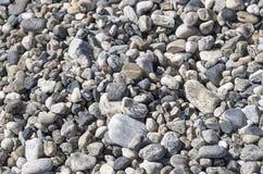 CALABRIA: SZCZEGÓŁ plaża otoczaki Zdjęcia Royalty Free