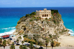 Calabria, Tropea city Royalty Free Stock Photo
