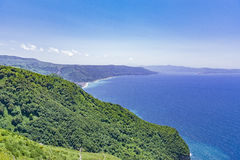 Calabria , view of south italia Royalty Free Stock Images