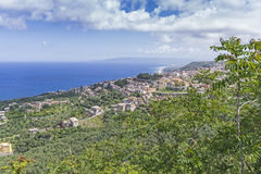 Calabria , view of south italia Royalty Free Stock Photos