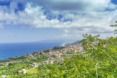 Calabria , view of south italia Royalty Free Stock Photography