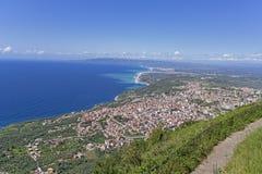 Calabria , view of south italia Stock Photos