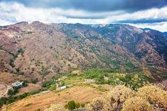 Calabrian krajobraz Fotografia Royalty Free