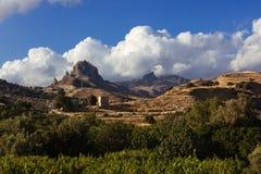 Calabrian kullar Arkivfoton