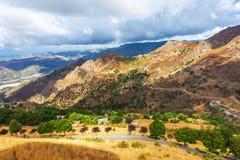 Calabrian landskap Fotografering för Bildbyråer