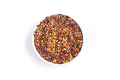 Calabrian pepper. Dry pepper Stock Photography