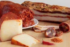 Calabrian spiced artykuły żywnościowy fotografia royalty free