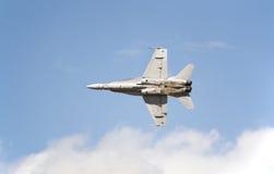 Calabrone F/A-18 Fotografie Stock