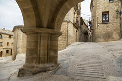 Calaceite, Teruel, Spain Royalty Free Stock Images