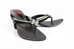 calçados das senhoras Imagem de Stock