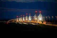 Calafat - γέφυρα Vidin Στοκ Εικόνες