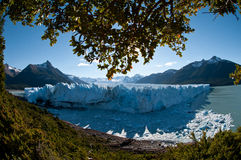 calafate冰川莫尔诺国家公园perito 图库摄影