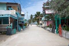 Calafate de Caye, Belice foto de archivo libre de regalías