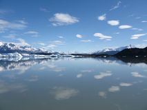 Calafate water mirrow Stock Photo