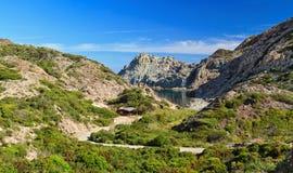 Calafico bay - Carloforte Royalty Free Stock Photography