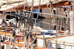 Calage de bateaux Image stock