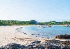 Calaguas, Camarines Norte. Right Side Island View Stock Photos