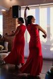 CALAHONDA, ANDALUCIA/SPAIN - 3-ЬЕ ИЮЛЯ: Танцы фламенко на Calaho стоковые изображения rf