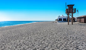 Calahonda Beach CostaTropical Royalty Free Stock Photo