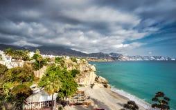 Calahonda beach Royalty Free Stock Image
