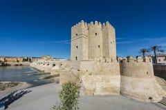 Calahorra πύργος στην Κόρδοβα, Ανδαλουσία, Ισπανία Στοκ φωτογραφία με δικαίωμα ελεύθερης χρήσης