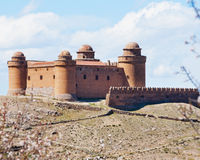 Calahorra castle near Granada, Spain Stock Photography