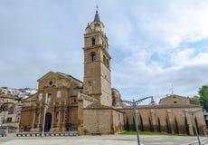 Calahorra domkyrka La Rioja Royaltyfri Foto