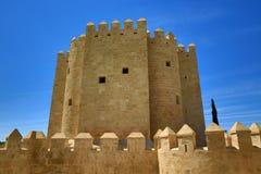 Calahorra torn (Torre de la Calahorra), Cordoba, Andalusia, Spanien Arkivbild