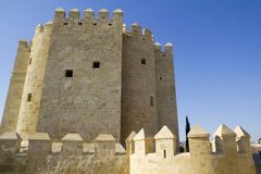 Calahorra Tower in Cordoba. Stock Image