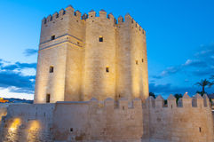 Calahorra tower in Cordoba Royalty Free Stock Photography