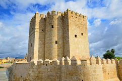 Calahorra tower in Cordoba Stock Photo