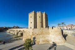 Calahorra Tower in Cordoba, Andalusia, Spain. Stock Image