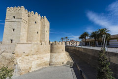 Calahorra Tower in Cordoba, Andalusia, Spain. Royalty Free Stock Photo