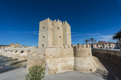 Calahorra Tower in Cordoba, Andalusia, Spain. Royalty Free Stock Photography