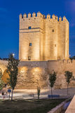 Calahorra Tower in Cordoba, Andalusia, Spain. Royalty Free Stock Image