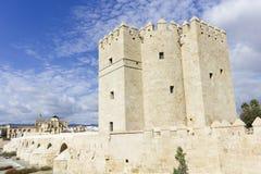 Calahorra tower in Cordoba Stock Image