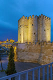 The Calahorra Tower, Cordoba, Spain Royalty Free Stock Photography
