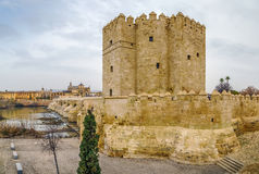 The Calahorra Tower, Cordoba, Spain Royalty Free Stock Images