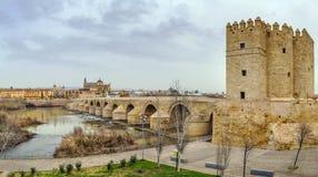 The Calahorra Tower, Cordoba, Spain Stock Images