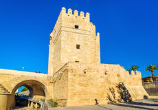 Calahorra Tower, a fortified gate in Cordoba, Spain Royalty Free Stock Photo