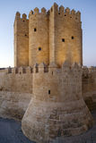 Calahorra Tower on the Roman Bridge in Cordoba Royalty Free Stock Photography