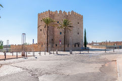 The Calahorra Tower in spanish Cordoba Royalty Free Stock Photos