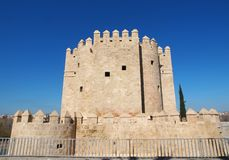 Calahorra tower (Torre de la Calahorra) Cordoba, Andalusia, Spain Stock Images
