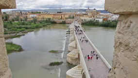 Calahorra-Turm übersehen stock footage