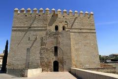 Calahorra-Turm (Torre De-La Calahorra), Cordoba, Andalusien, Spanien Lizenzfreies Stockfoto
