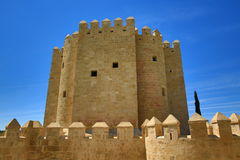 Calahorra-Turm (Torre De-La Calahorra), Cordoba, Andalusien, Spanien Stockfotografie