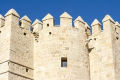 Calahorra wierza na Romańskim moscie w cordobie, Andalusia, Hiszpania Obraz Royalty Free